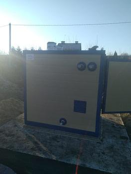 Котел наружного применения одинарный 60 кВт