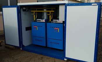 Котел наружного применения сдвоенный 500 кВт