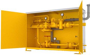 Газорегуляторные пункты с газовым отоплением ГСГО